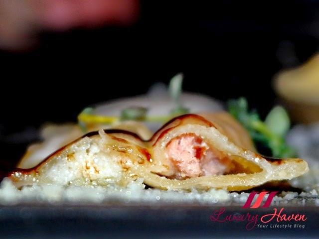 gaia italian restaurant ravioli parma ham parmesan review