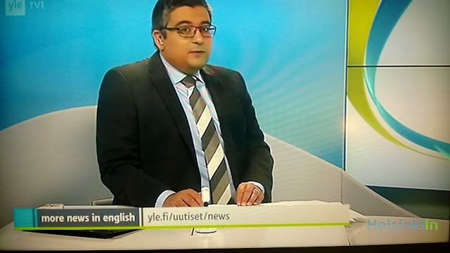 Yle News on TV