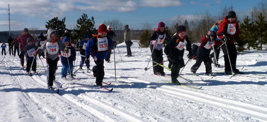 how to take off cross country skis