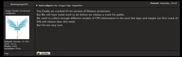 Game PC dengan Sistem Denuvo Bisa Dibajak!