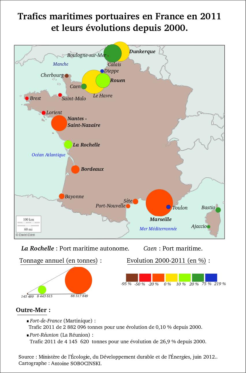 Les Carnets D Afs Les Ports De Commerce En France Et Ses