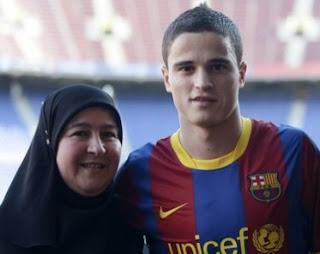 Muslim Player Ibrahim Afellay