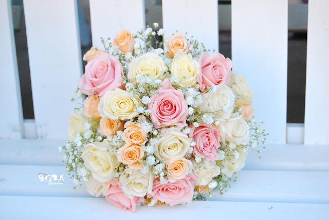 ramo de novia rosas preservadas