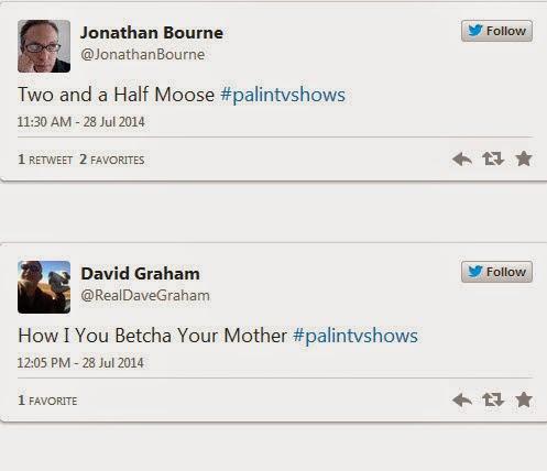 #PalinTVshows