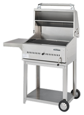 Stainless steel charcoal barbecue grills - All stainless steel grill ...