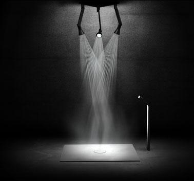 Инновационная душевая система Tri Form Shower от Hugh Thomas