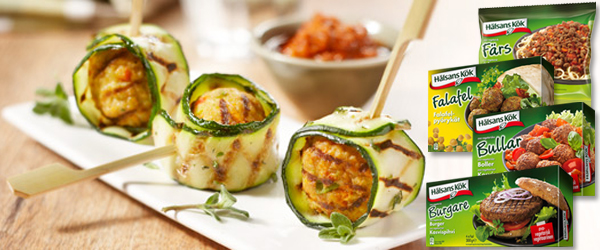 Jag ska buzza hälsans kök produkter i min blogg jippiii spännande