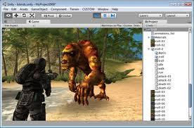 برنامج Unity 3D لصناعة الألعاب
