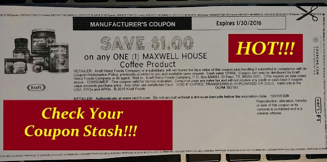 graphic relating to Maxwell House Coffee Coupons Printable named Serious Couponing Mommy: STOCKUP Value upon Maxwell Residence