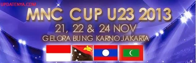 Klasemen Sementara Timnas Indonesia U-23 Turnamen MNC Cup 2013