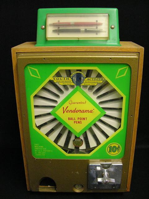 Ballpoint Pen Vending Machine1