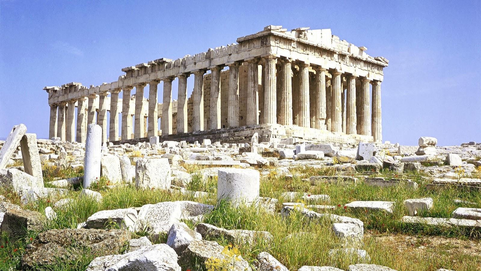 The Parthenon - A temple on the Athenian Acropolis ...
