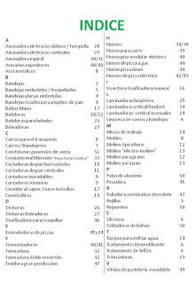 indice del catalogo general COBEPAN2015