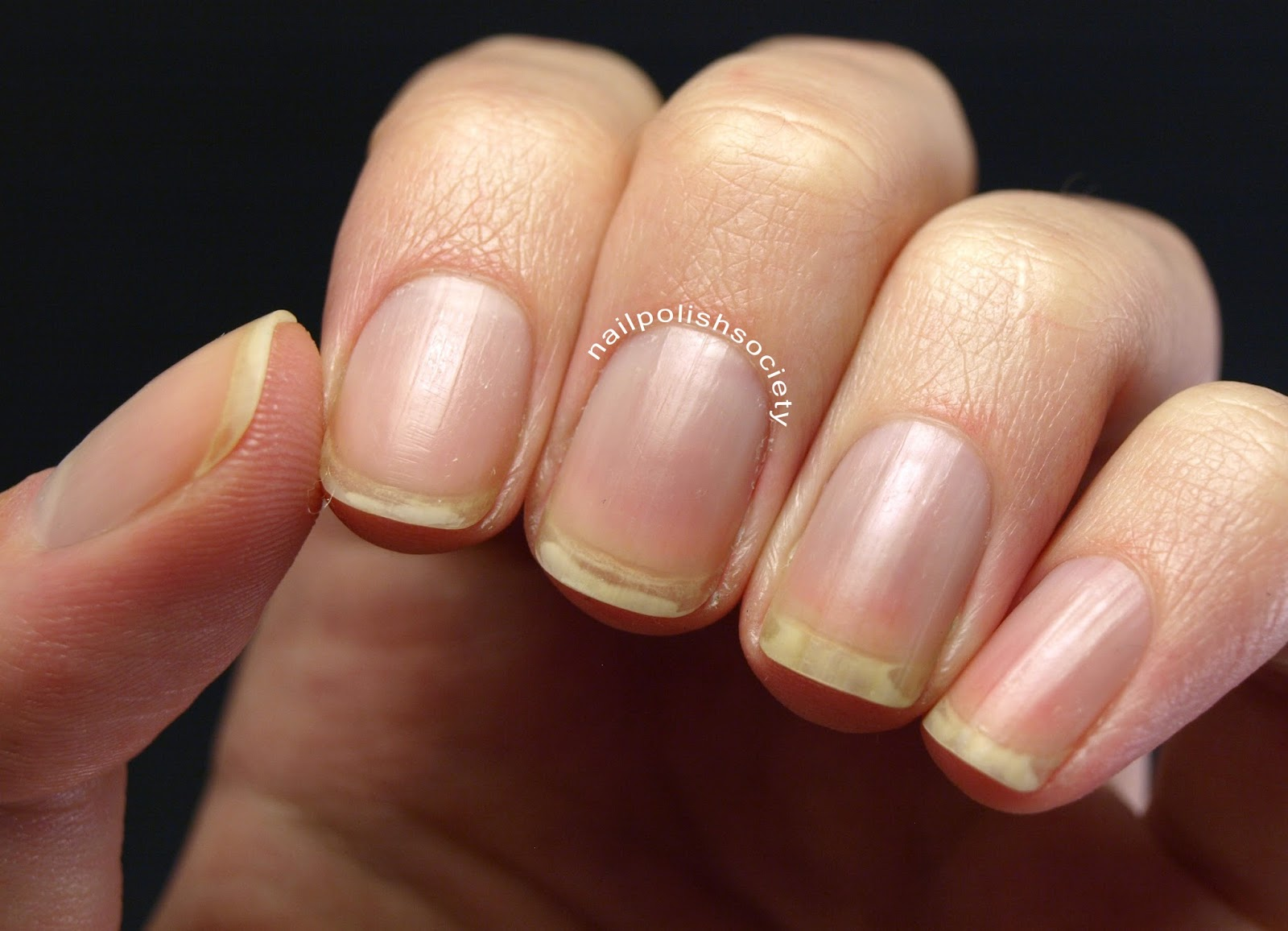 Nail Polish Society: Lent Manicure... My Very Naked Nails and Nail Care