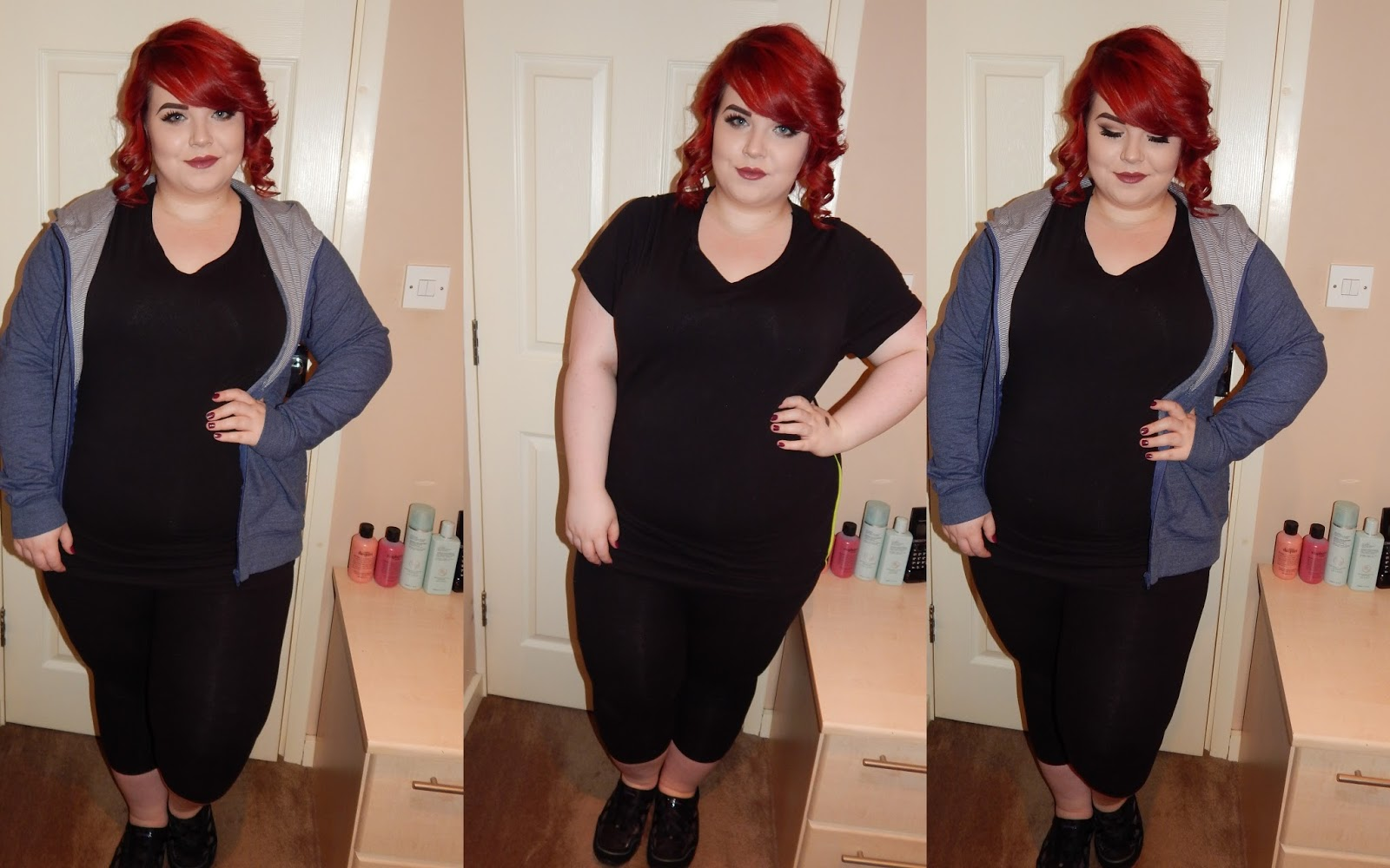Plus Size Gym Clothes with Simply Be, georgina grogan, plus size blogger