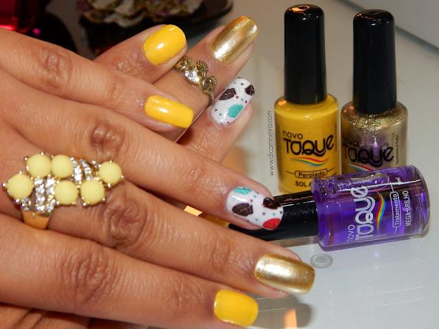 Unhas Candy Color com parcerias Novo Toque e Bella's Unhas