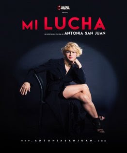 "Cartel de ""Mi Lucha"" de Antonia San Juan"