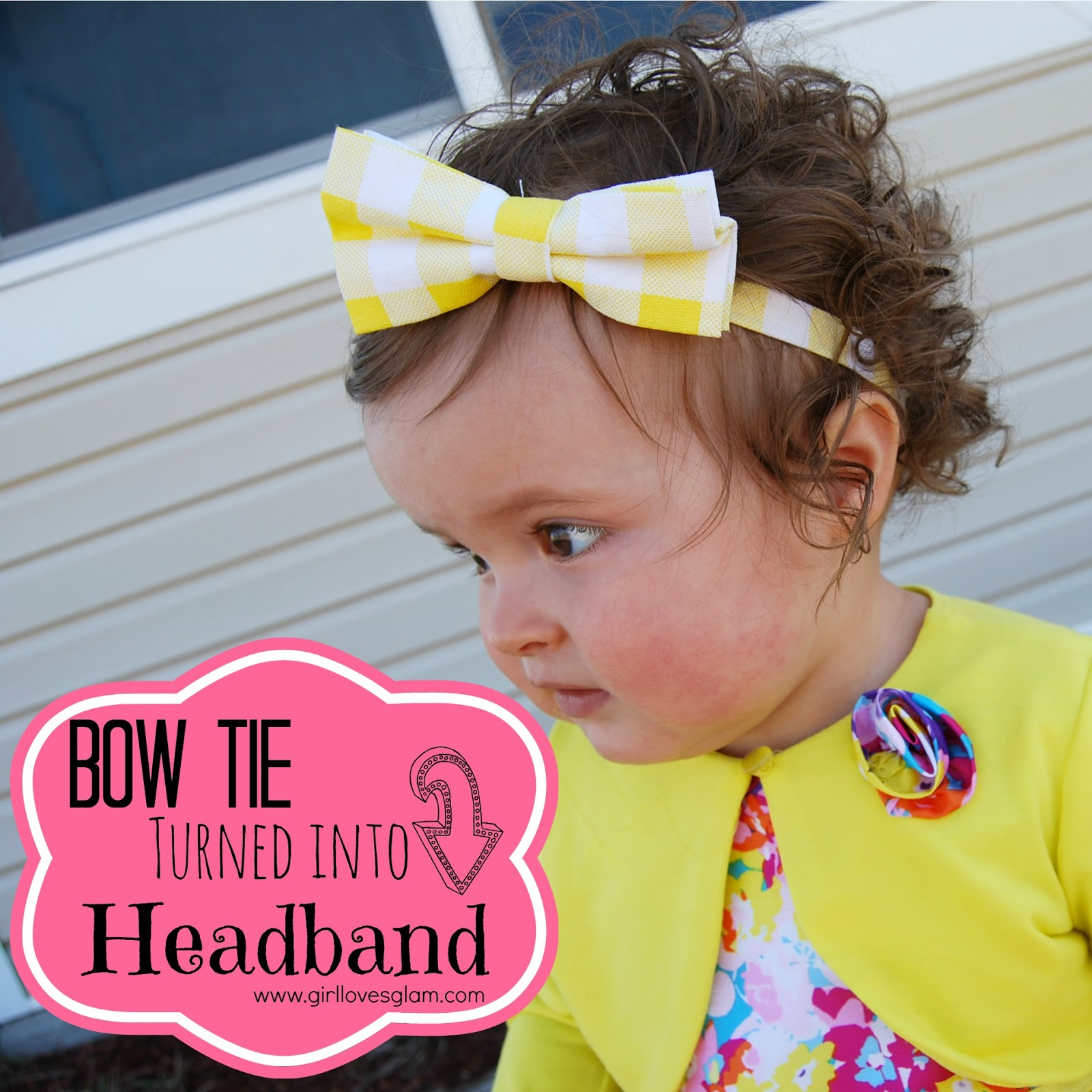 Bow tie headband tutorial girl loves glam to say this is a full tutorial would be a total lie because it is so dang easy but i will showtell you how i turned a bow tie into a headband ccuart Gallery