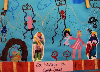 La llegenda de Sant Jordi.