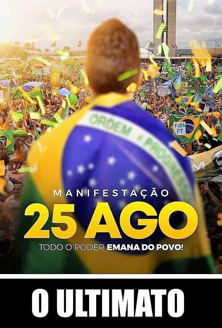 25 de agosto: Brasil