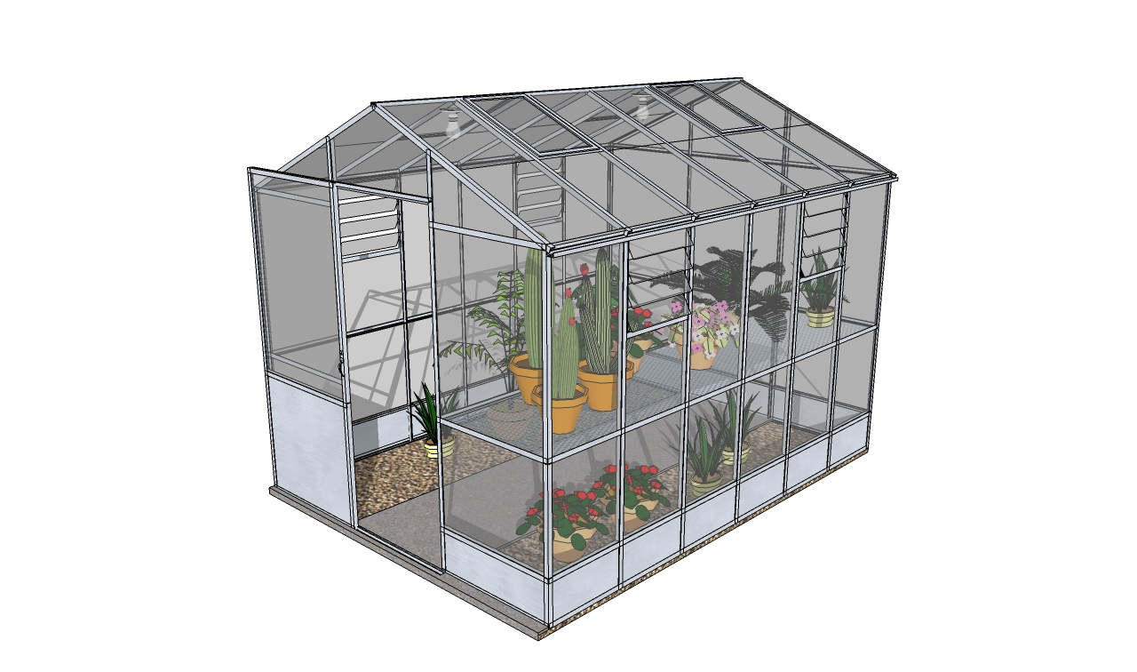 Lean To Greenhouse Plans Diy Greenhouse Plans