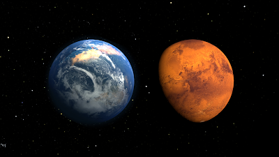 Mars – Once Wet; Now Dry