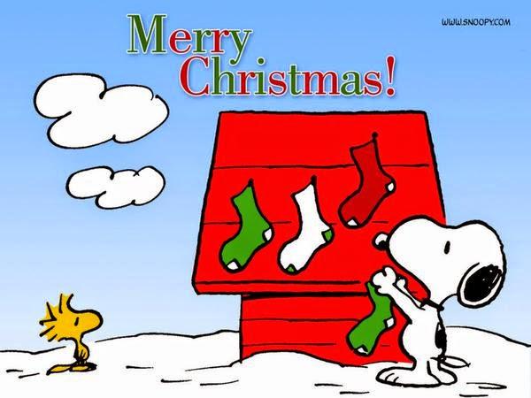 Merry Christmas!. - #MerryChristmas #snoopy