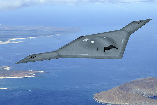 WORLD's STEALTH UAV (Unmanned Combat Air Vehicle) X-47B