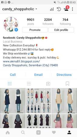 Jom follow Instagram candy_shoppahlic untuk update yang lebih pantas!!!