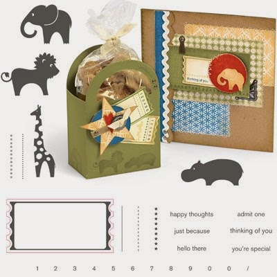 Close To My Heart Zoology Stamp set