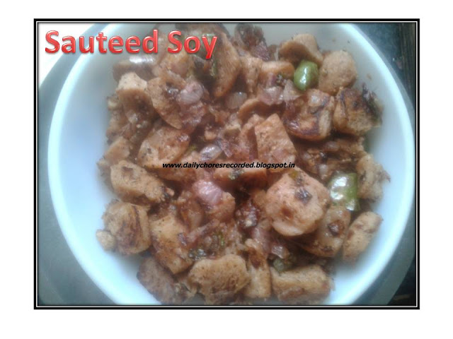 Sauteed Soy