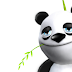 Black and white Panda for FB Profile Cover or time line photo