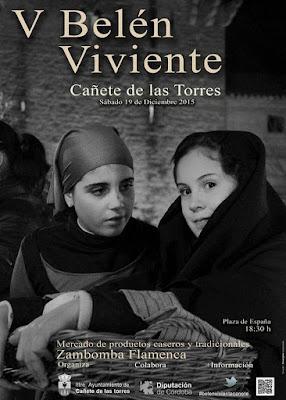 BELÉN VIVIENTE DE CAÑETE DE LAS TORRES 2015 - CÓRDOBA