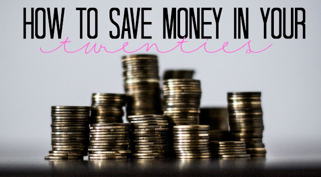 save money in your twenties