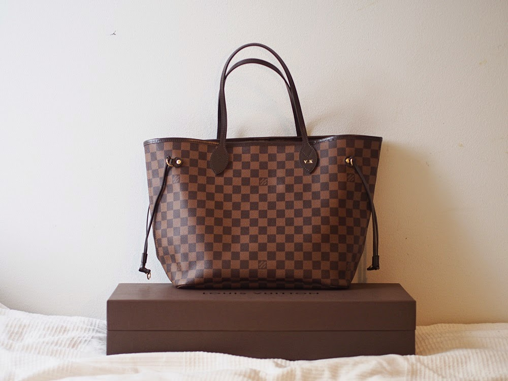 Louis Vuitton Laukku Keskustelu : Vilma kentt? louis vuitton neverfull mm damier ebene