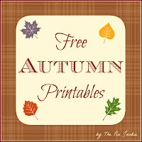 free autumn printables