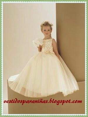 trajes de matrimonio para niñas