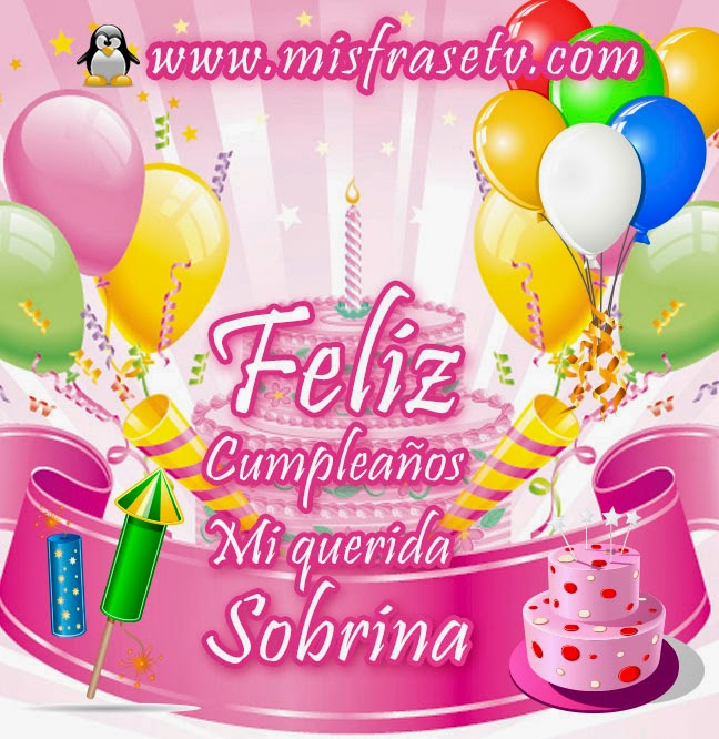 Pin by Mary on Felicidades Sobrina / Sobrino | Pinterest