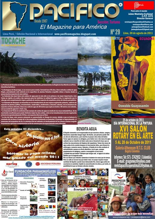 Revista Pacífico Nº 29 Turismo