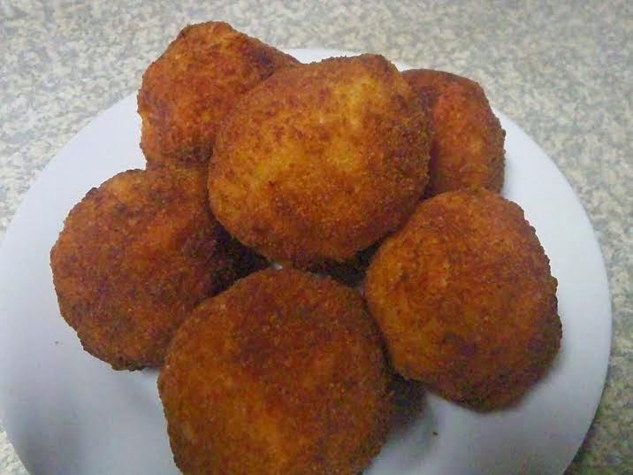 Yam Balls