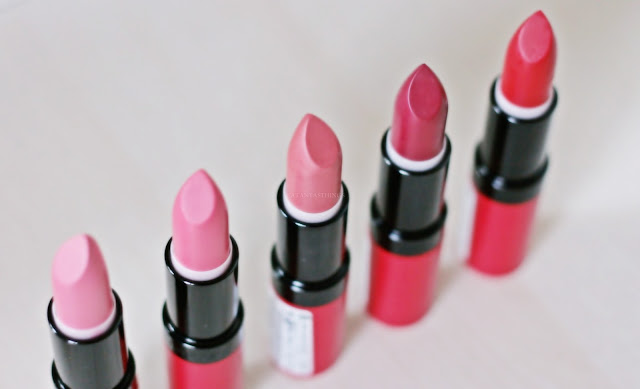rimmel london lasting finish by kate lipstick swatches opinions review