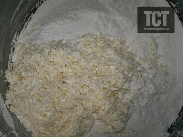 arepas de arroz