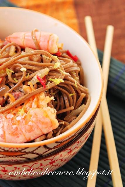 soba noodle italo orientali