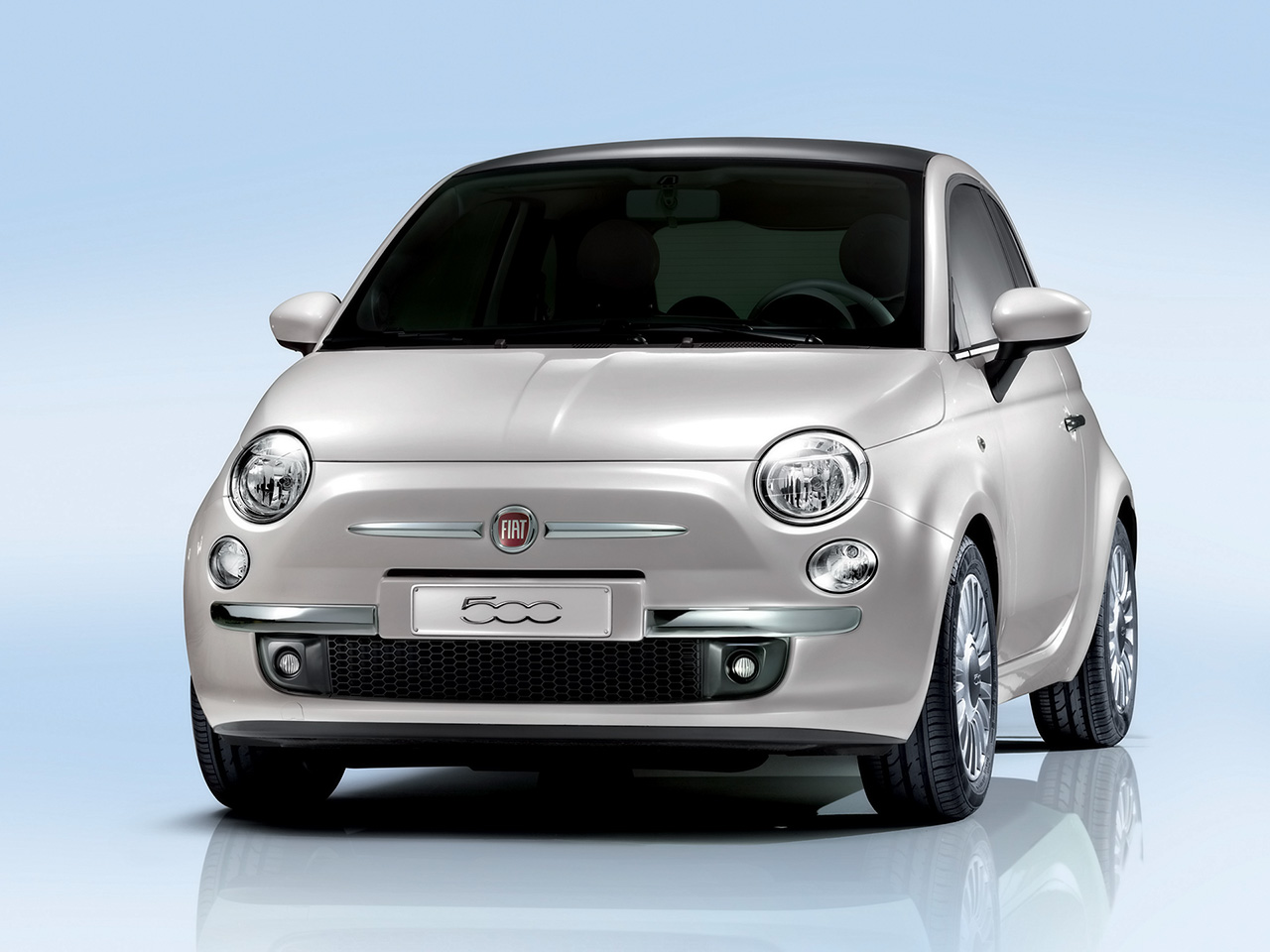 fotos e imagens fotos do carro fiat 500. Black Bedroom Furniture Sets. Home Design Ideas