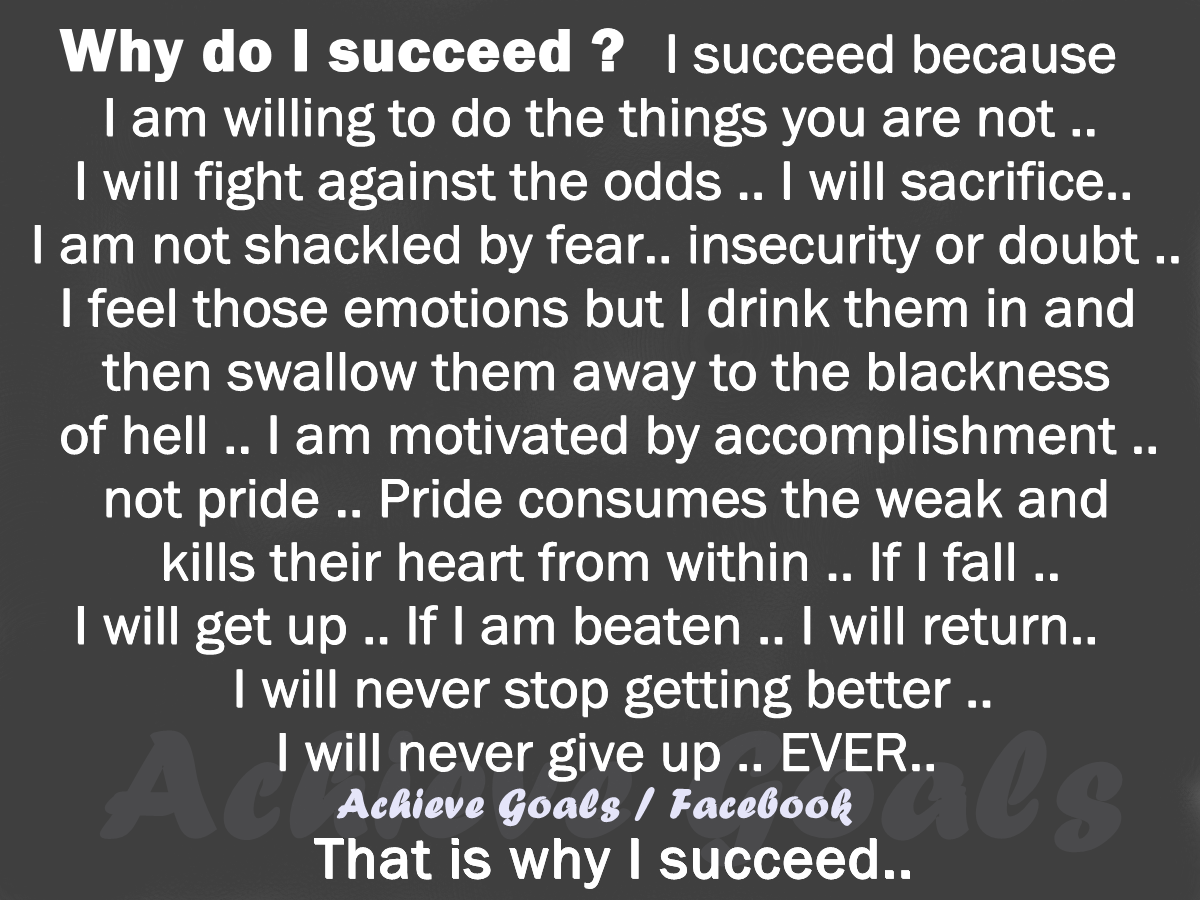 why is it important to succeed Top 10 reasons why physical appearance is so important 45 by amitabh shukla updated september 19, 2009 and useful to beat the insecurities and and have the guts to be more competitive to succeed but cheer up, your writings really help me about my reaserch on how physical appearance.