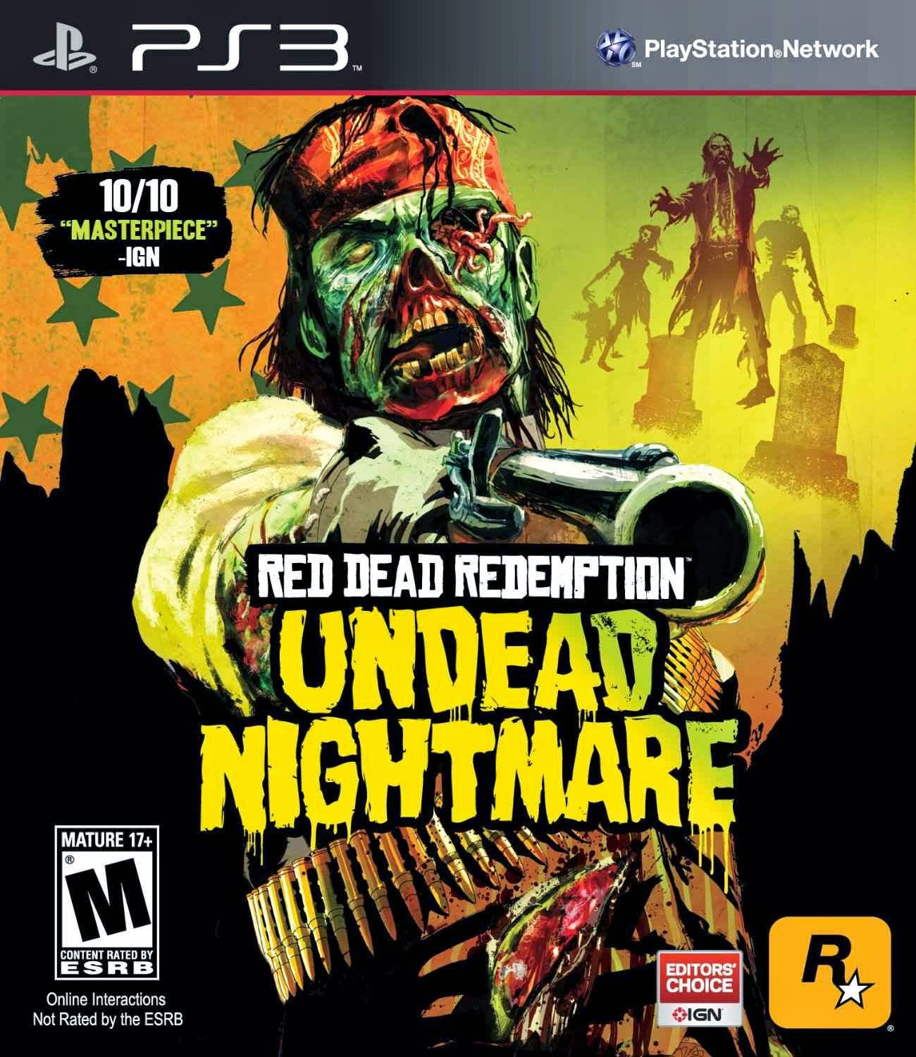 Red Dead Redemption: Undead Nightmare [PS3] [EUR] [3.50+]