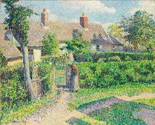 Pissaro, Maisons de paysans, Eragny La Chaumière