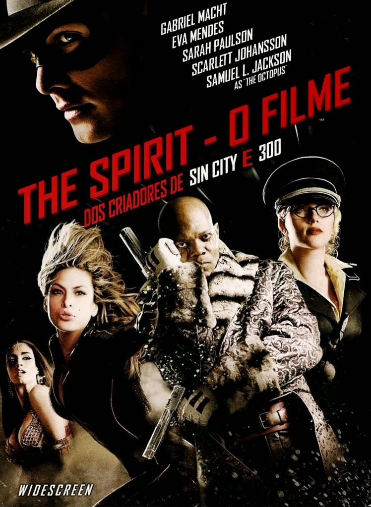 Baixar Filme The Spirit: O Filme BDRip AVI + RMVB Dublado