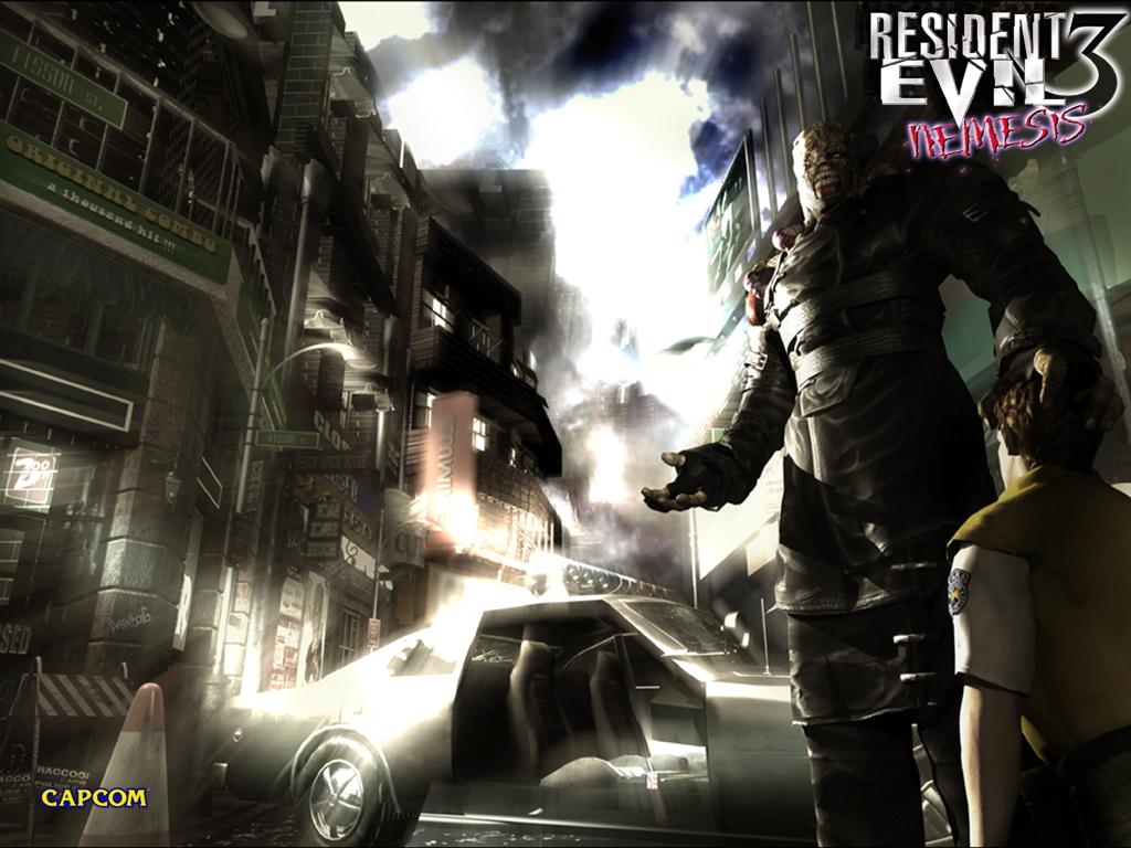 SILVER SCREAM: Retro Review: RESIDENT EVIL 3: NEMESIS (PSX)