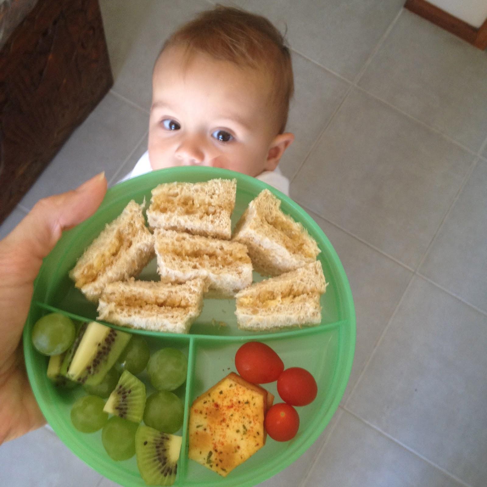 Toddler food game
